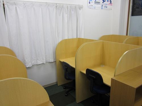 個別指導塾ノーバス半田宮池校の自習室です画像
